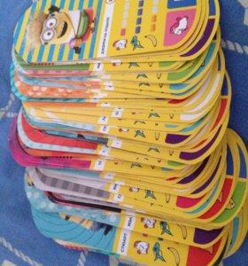 Продам карточки миньонов из магнита