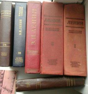 Книги и учебники СССР. Сталин, Ленин, Калинин...
