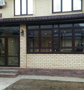 Пластиковые окна и двери,ремонт.