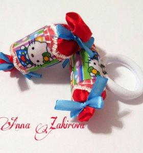 Резиночки-конфетки ручной работы