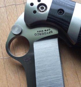 Складной нож Spyderco Vallotton