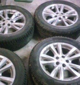 4 колеса с дисками