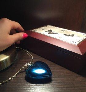 Шкатулка подарок бижутерия украшения драгоценности