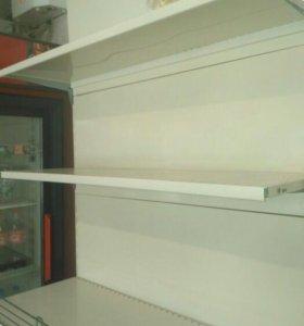 Продам белые стеллажи для магазина бу Италия