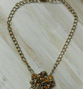 Новое ожерелье цветок