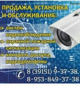 Видеорегистратор на 4 камеры. Видеонаблюдение