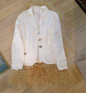 2 льняных пиджака, 42-44 р