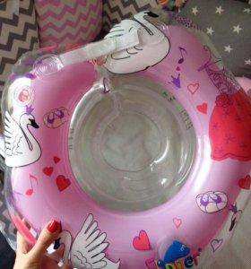 Детский круг для плавания грудничков roxy kids