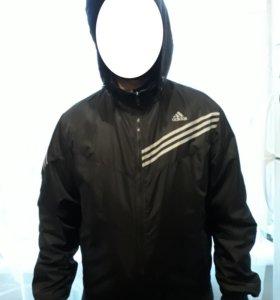 Куртка ветровка adidas мужская