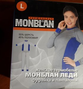 Термобелье женское MONBLAN