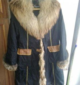 Пальто зимнее.