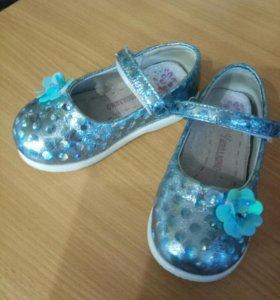Туфли для девочки 25р.