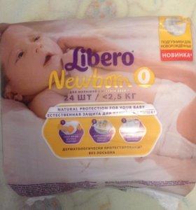 Подгузники Libero Newborn 0