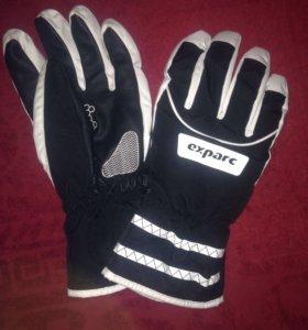 Перчатки Exparc новые!