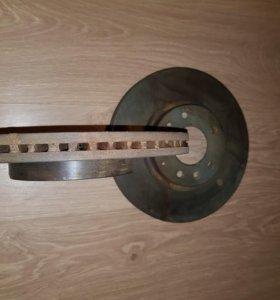 Новые, оригинальные тормозные диски на мазду 6 GH