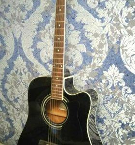 Электроакустическая гитара Ibanez со звукоснимател