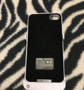 Беспроводная зарядка-чехол для айфон 4s