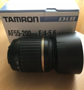 Объектив Tamron AF 55-200mm