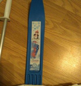 Лыжи детские.