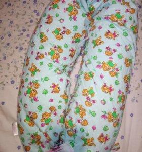 """Подушка для беременных и для кормления """"Мода мама"""""""