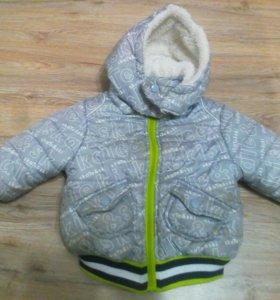 Куртка на теплую зиму GJ р. 80