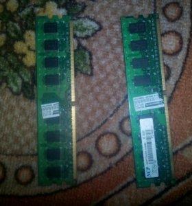 Оперативная память (2 модуля)