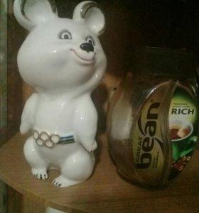 Олимпийский фарфоровый мишка