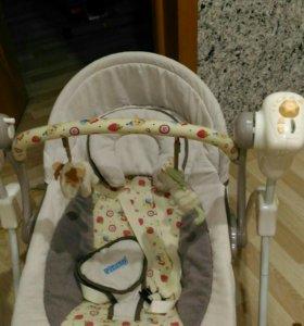 Электро качалка для младенцев