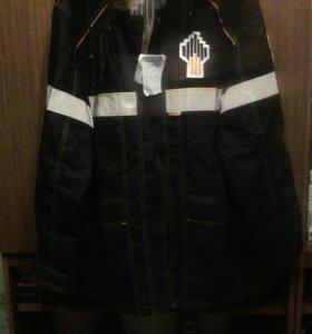 Куртка и брюки рабочие.