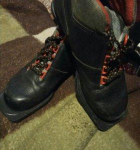 Лыжние ботинки 36 р