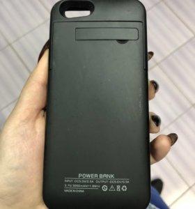 Чехол зарядка iPhone 6,6s