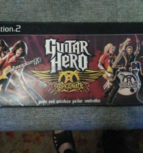 Продам Беспроводную Guitar hero aerosmith для Ps2