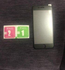 Стекла на iPhone 6, 6s, 7