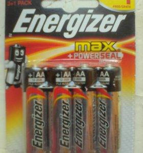 Батарейки Energizer AA 1.5V