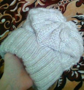Женская зимняя шапка, НОВАЯ!