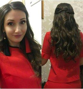 Прически(свадебные.вечерние), макияж