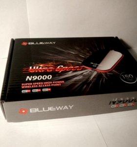 Интересный усилитель WiFi сигнала Blueway n9000