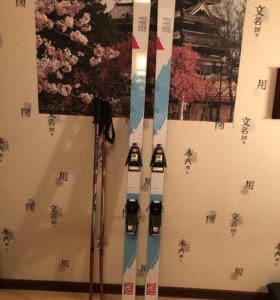 Артефактные горные лыжи PRE 1200SP с ботинками