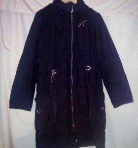 Куртка с капюшоном 52-56