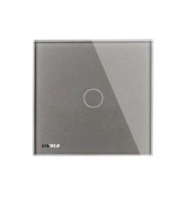 Сенсорный выключатель (серебро) livolo