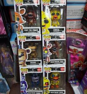 Набор игрушек из игры 5 ночей с Фредди фнаф fnaf