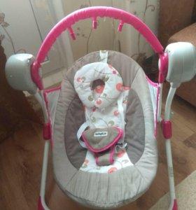 Качели babyton для новорожденных