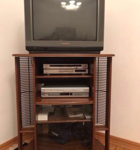 Подставка, телевизор, видео, СД на колёсиках