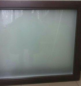 Деревянное евро окно (сосна)