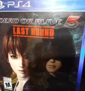 DEAD OR ALIVE 5 LAST ROUND PS4 NEW