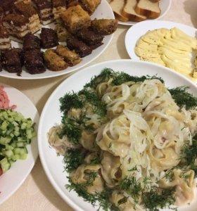 Полуфабрикаты и домашняя еда 🥘