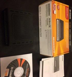 Роутер ADSL D-Link DSL-2500U