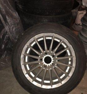 Колеса в сборе летние шины для VAG