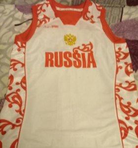 "Майка ""Россия""."