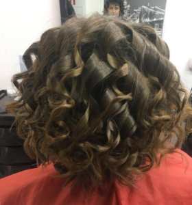 Причёски и стрижки волос, коррекция бровей